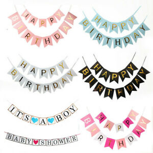 Happy-Birthday-Bunting-Banner-Flag-Perfection-Garland-Party-Decor-Baby-Boy-Girl
