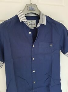 Mens-MAN-by-VIVIENNE-WESTWOOD-short-sleeve-shirt-size-small-Immaculate-RRP-260
