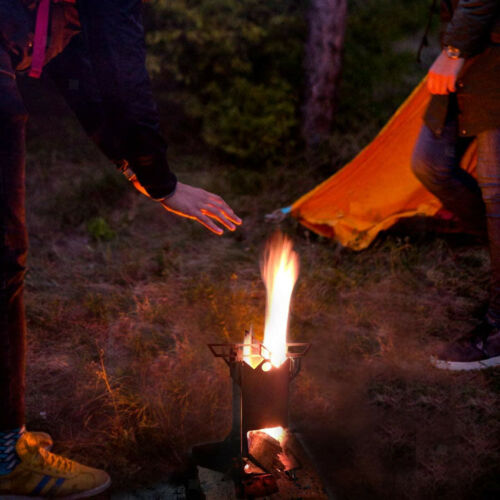 Backpackers Holzofen Mini Outdoor Ultraleicht Brenner Picknick Camping