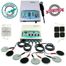 Advanced Combo 4 Channel Physiotherapy Unit With Ultrasound 3mhz Therapy Machine