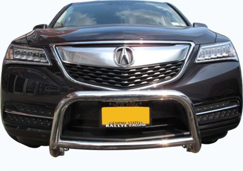 Wynntech Front A Bumper Guard Protector For 2014-2018 Acura MDX Stainless Steel
