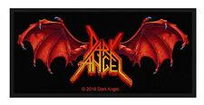 DARK ANGEL - Patch Aufnäher Winged Logo 10x5cm