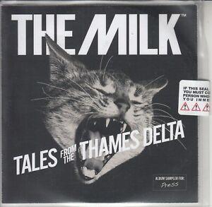 THE MILK Tales From The Thames Delta sampler 2012 UK 5-trk #'d promo CD sealed