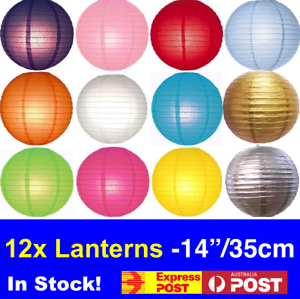 12x Paper Lanterns 12x Cool White Battery Operated Led Keyring