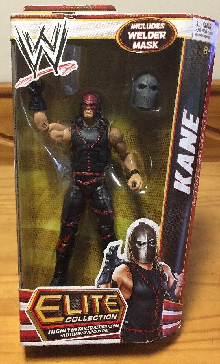 WWE Mattel Elite Collection Kane Welder Mask Wrestling Figure MOC Series 19