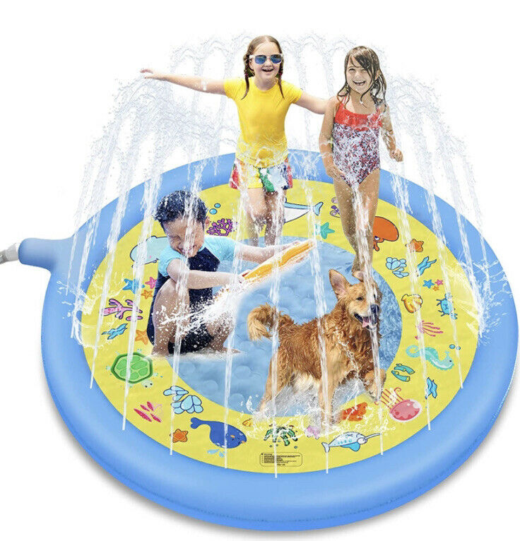 Inflatable Splash Pad 67 inches Sprinkler Play Mat