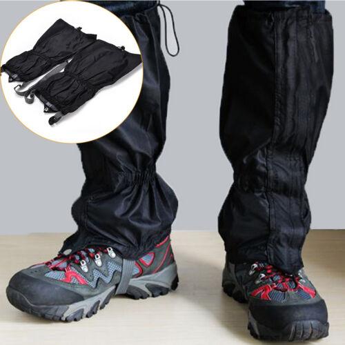 15,7''imperméable à l'eau en plein air ski chaussure couvre-jambe botte guêtresB
