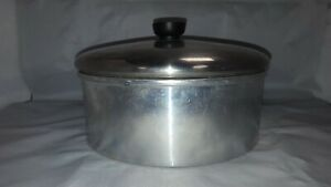 VINTAGE-WEAR-EVER-CAKE-PAN-WITH-REMOVEABLE-BOTTOM-DEEP-BOWL-9-034-x-3-1-4-034-No-2719