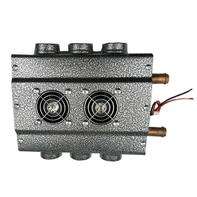 6 port Universal Under dash Heater 12V Heat w/ Speed Switch for Car RV Truck
