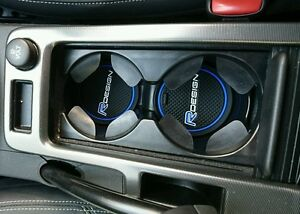 Volvo-XC60-S60-V60-V50-C30-R-Design-cup-holder-mats-Blue-only