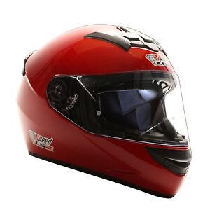 LS2-FF352-Integralhelm-Rot-Kart-Helm-Motorradhelm-Speed-LS2-Logo-XXS-XXL