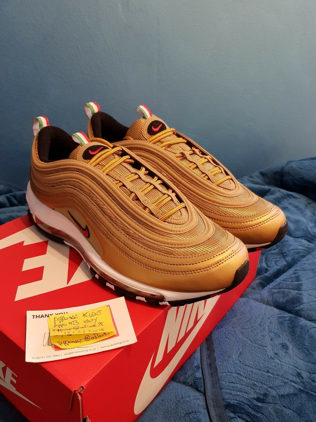 on sale d01aa 3c914 Nike IT Air max 97 IT Nike Oro Italy 2018 Sold Out!!! c67967 ...