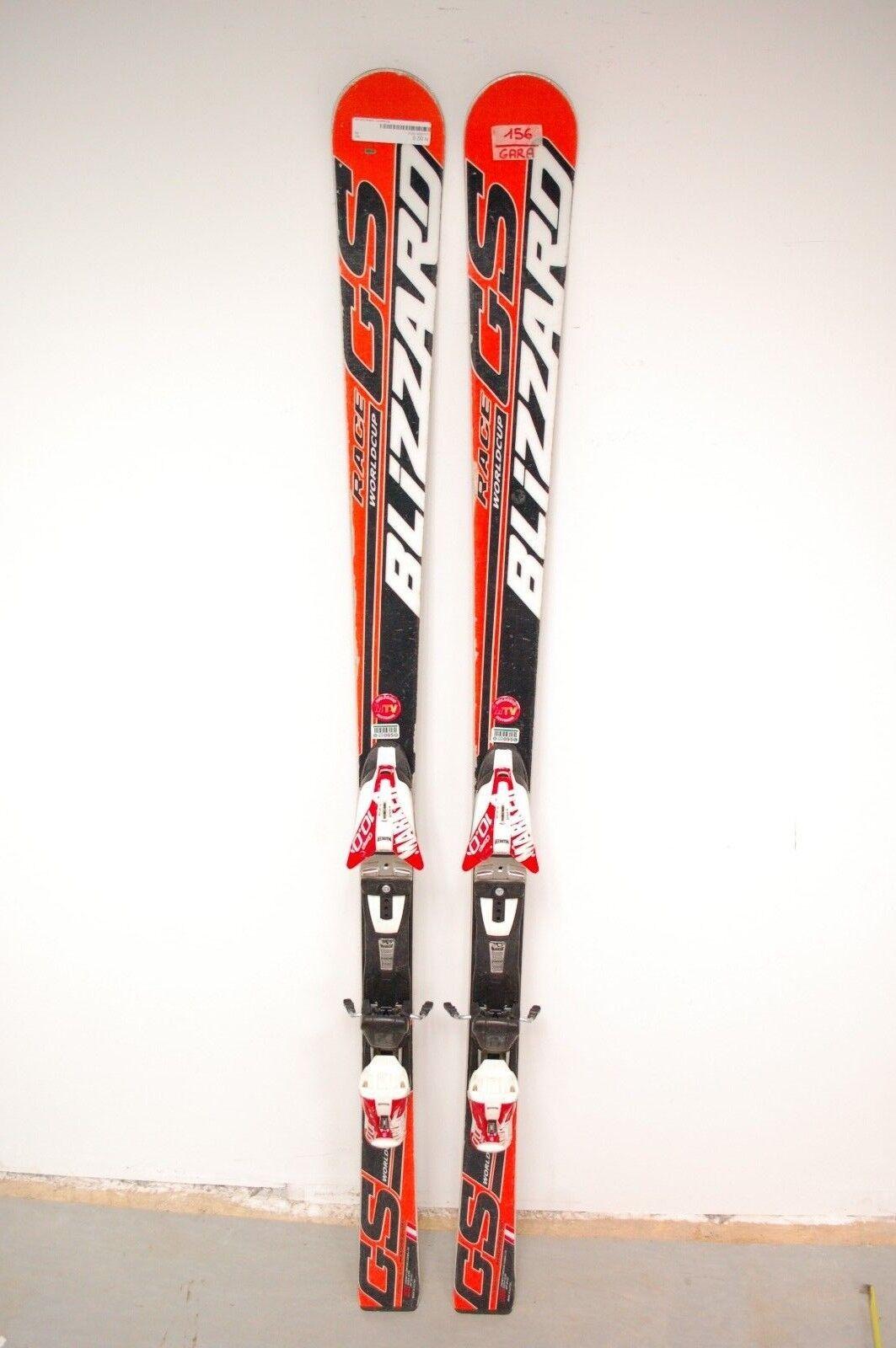 Blizzard Race GS Magnesium World Cup 156 cm Ski + Marker Comp 10.0 Bindings