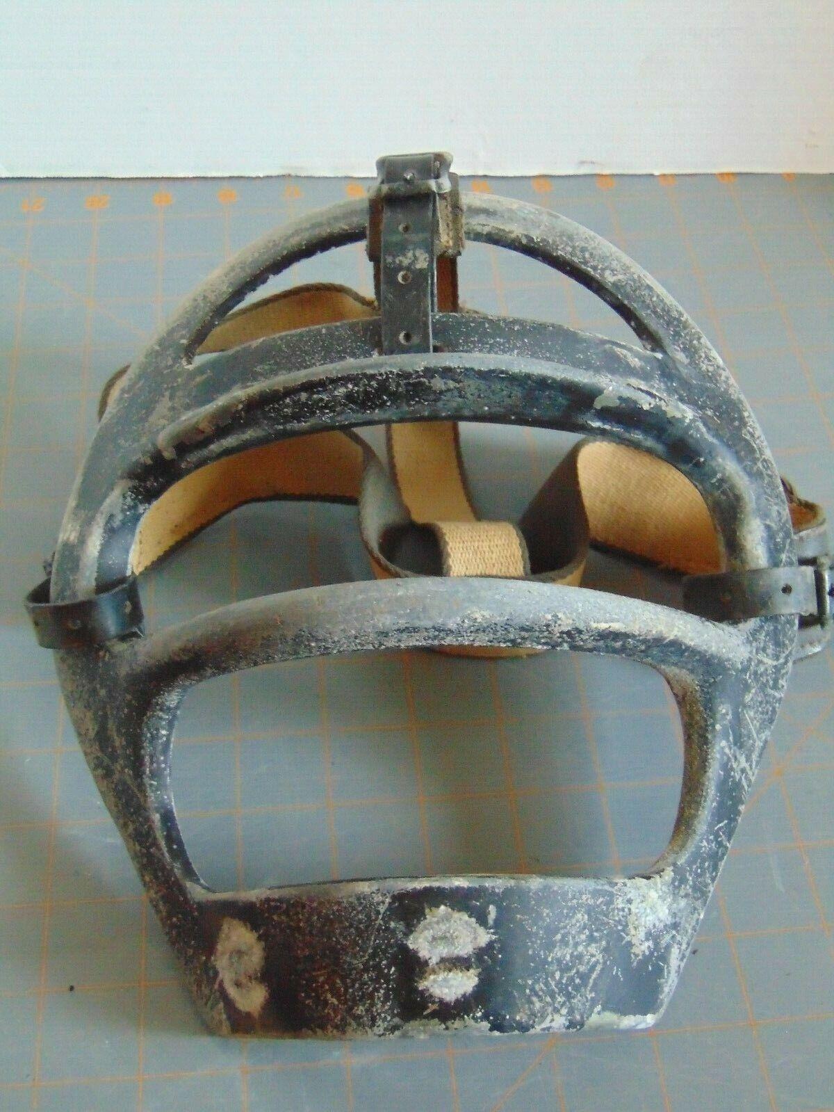 Vintage WILSON Metal Catcher's face mask