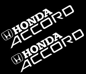 CSK Honda Accord STICKER VINYL DECAL VEHICLE CAR WALL LAPTOP SET - Honda accord decals stickers