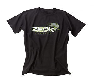 Angel Shirt Zeck Tshirt T-Shirt schwarz Angelbekleidung zum Wallerangeln
