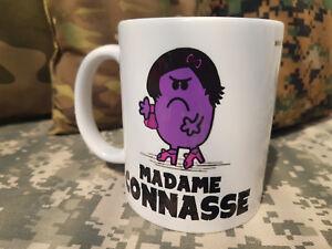 Mug Madame Connasse Snake Patch Ceramique Cafe Humour Fun