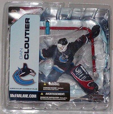 """6/"""" Action Figure Dan Cloutier-Vancouver Canucks MCFARLANE-NHL Série 5"""