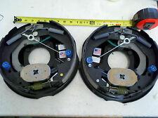 "(2) NEV-R-ADJUST Trailer 3500 lb Axle 10"" x 2.25"" Electric Brakes DEXTER"