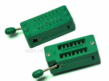 14 PIN UNIVERSAL ZIF TEST DIP IC SOCKET for DIY Arduino - UK SELLER