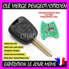 Clé+electronique+ Transpondeur Peugeot Partner Expert Boxer ...