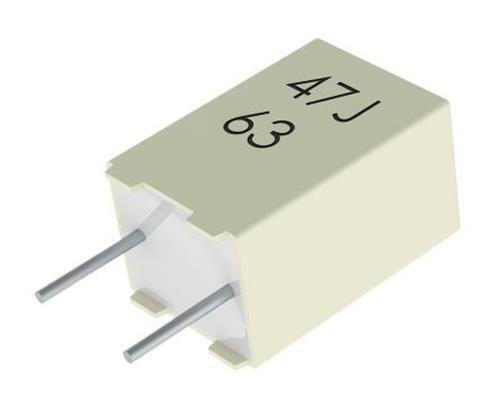10 x KEMET 10nF Polyester Capacitor PET 63Vac 100Vdc ±5% R82 Series Through Hole