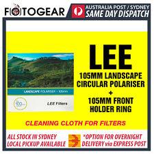 LEE Filters CPL Slim Warming 105mm Landscape Polarizer + 105mm Front Holder Ring