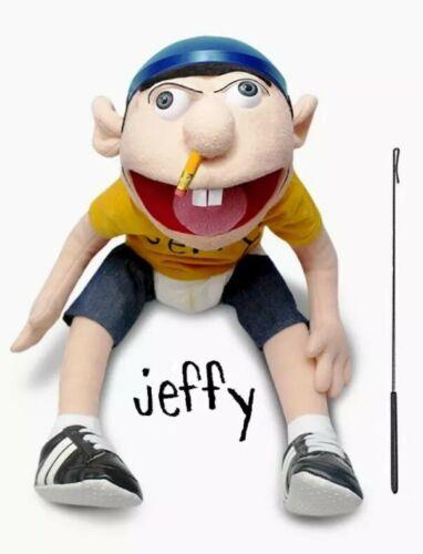 Brand New Genuine SML Jeffy marionnette avec métal marionnette tige!! Vendeur Britannique EN STOCK!!!
