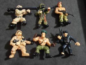 2004 série 1 X-Concepts Micro Icons Lot de 6 différents Kung Fu Masters