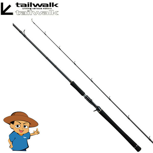 Tailwalk BEECAS II 88MH Medium Heavy 8'8  fishing baitcasting rod from JAPAN