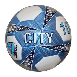 White NEW Lists @ $19 Blue Vizari Manchester City 10 Soccer Ball