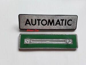 Embleme-Arriere-Aluminium-Automatic-pour-Alfa-6