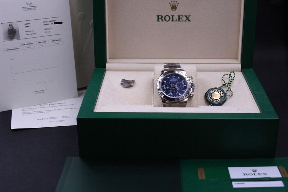 Rolex Daytona 18K WG 116509 - Komplet sæt 2020