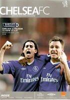 CHELSEA V FULHAM Football Programme Barclays Premiership 23/04/2005