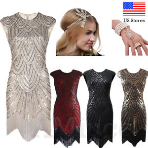 1920s-Flapper-Dresses-Evening-Party-Vintage-Great-Gatsby-20s-Dress-Sequins-Dress