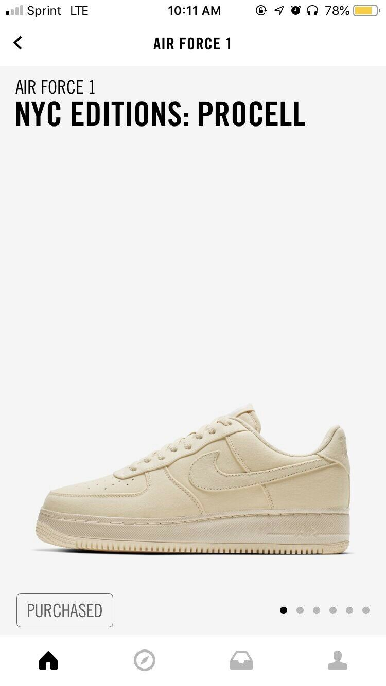 Procell Nike Air Force One 2019