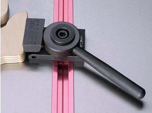 """2 Shop Fox 36/"""" Aluminum T-Slot T-Tracks Wood Metal Work Clamp Fixture D2725 New"""
