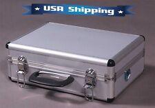 Aluminum RC Transmitter Carrying Case for Futaba JR Spektrum FrSky Taranis Hitec