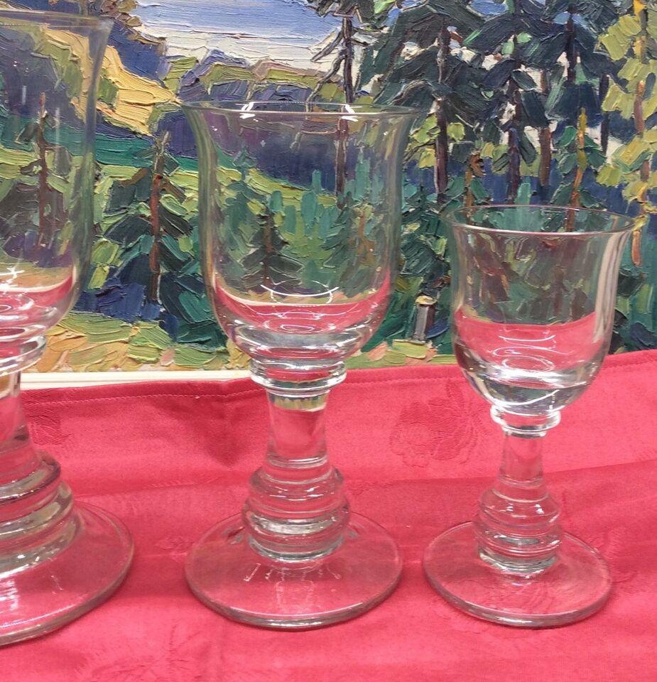 Glas, Rødvins porkal, Holmegård..????