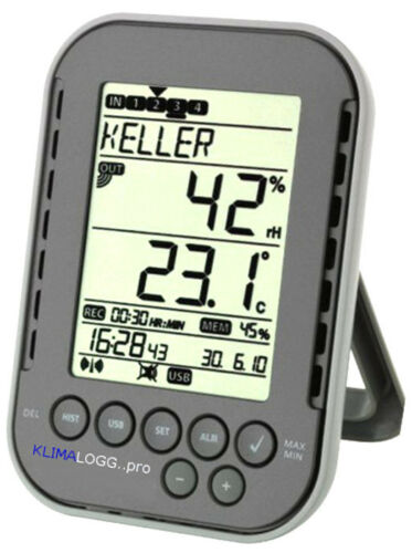 Pool-Logger-Plus Floating Transmitter Temperature USB Pc Klimalogg Pro