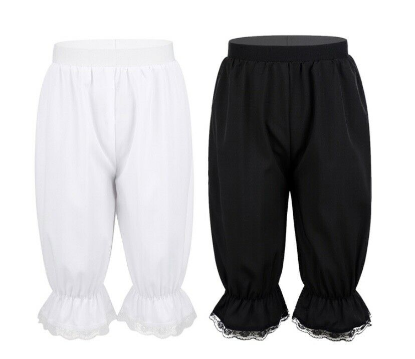 Bloomers.Kids Dance Costume Frilly Lace Bloomers Pants Undergarment.Character.UK