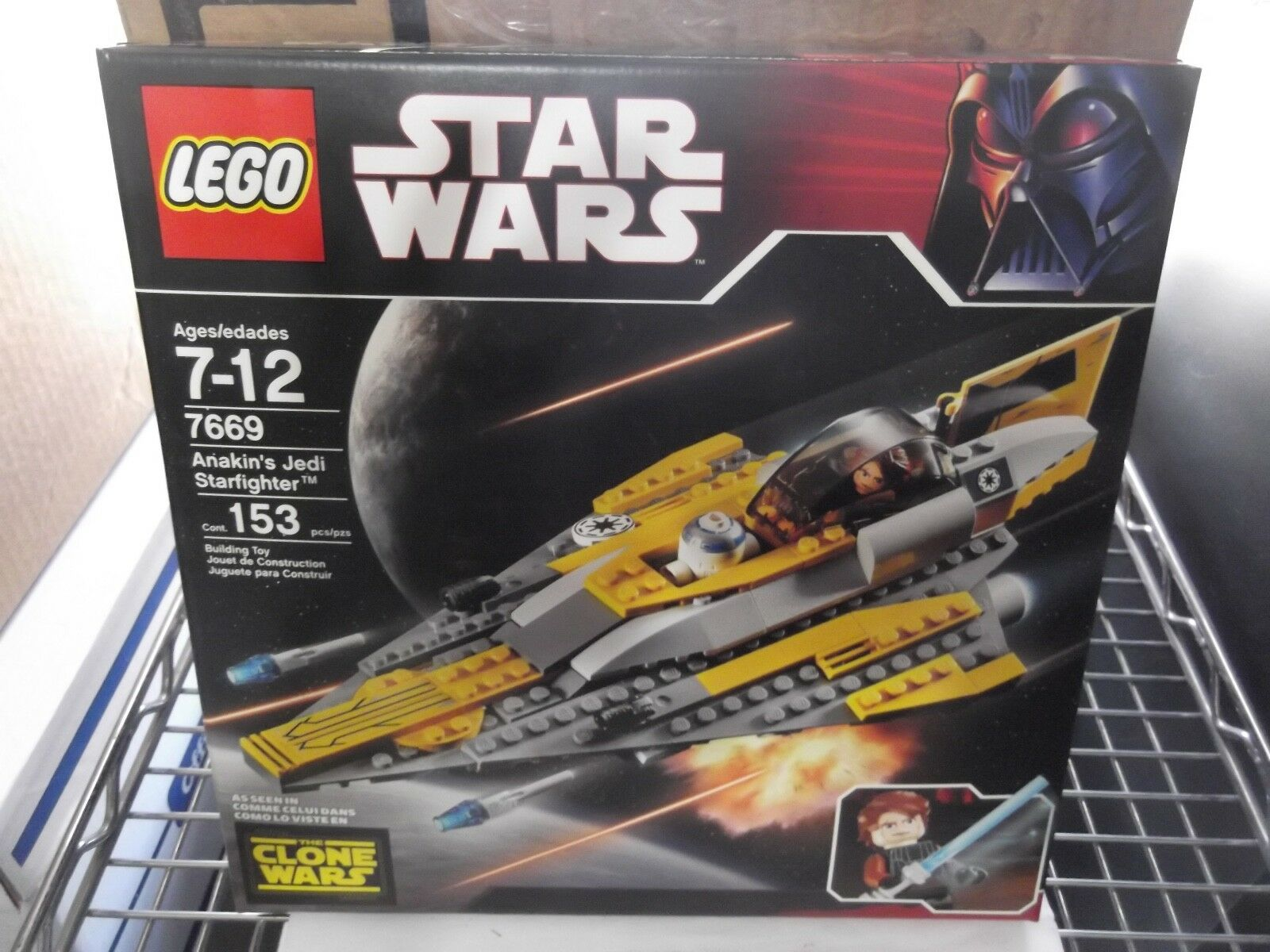 Lego star wars 7669 Anakin's Jedi Starfighter