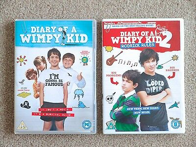 Diary Of A Wimpy Kid Rodrick Rules Dvd S Greg Heffley Ebay