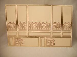 World /& Model Ceiling Panel  34816 Wallpaper dollhouse 1//12 scale