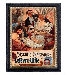 Art Nouveau Miniature Dollhouse Doll House Picture