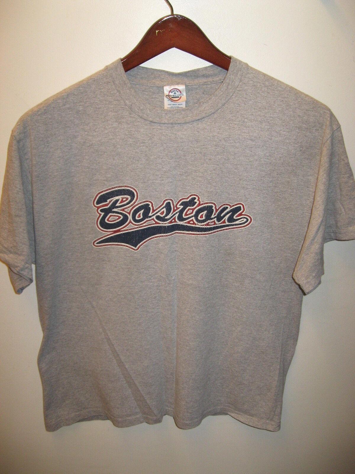 Boston Massachusetts Rouge Sox Athlétique Bruins Sport Athlétique Sox Équipe Gym Rétro T Shirt c0e212