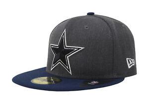 buy popular ddc6d cb103 Image is loading New-Era-59Fifty-Cap-NFL-Dallas-Cowboys-Mens-