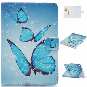 Blue-Butterfly-Magnetic-Pattern-Leather-Smart-Cover-Case-for-iPad-Mini-1-2-3-B7