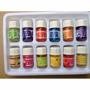 Essential-Oil-Set-12-Pack-100-Pure-Natural-Therapeutic-Grade-Oils-Lot-3-ml