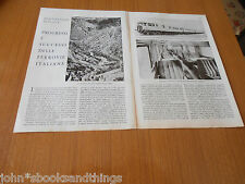 1938 PROGRESSI FERROVIE ITALIANE OPERA REGIME LITTORINA PIAGGIO  FIAT BREDA